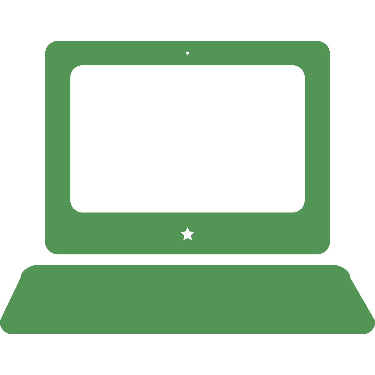 Laptop designed by Venkatesh Aiyulu from the Noun Project